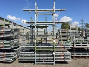 LAYHER ALLROUND Stiel o. Rohrverbinder 2,50 m gebraucht
