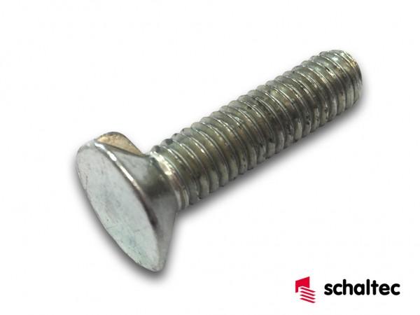 Linsensenkschraube M 6X25