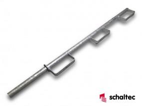 schaltec Triton FS-Geländerpfosten verz. rund zum Stecken Neuware