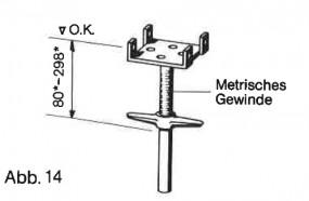 Hünnebeck-Harsco ID15-Kopfspindel 38 gebraucht (nur Export)