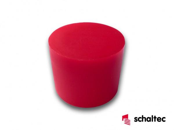 Uni-Stopfen schaltec D 24 rot