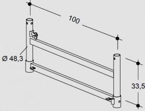 Hünnebeck-Harsco ID15 Ausgleichsrahmen 33 gebraucht