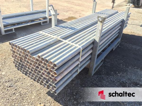 Gerüstrohr Stahl Ø 48,3 x 3,2, l = 3,0 m | gebraucht