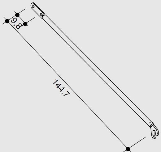 Hünnebeck ID15 Diagonale 133