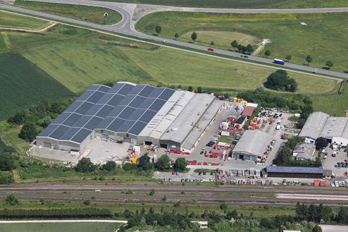 schaltec GmbH Luftbild Standort Herbertingen