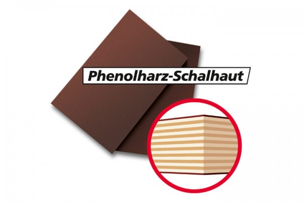 Logo Ersatzplatte Schalhaut Phenolharz