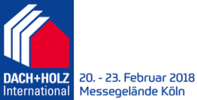 DACH + HOLZ International | 20. – 23.02.2018 | Messegelände Köln