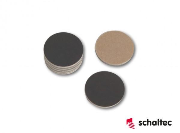 Reparaturplättchen Phenolharz ø 40 mm | Packung = 100 Stück