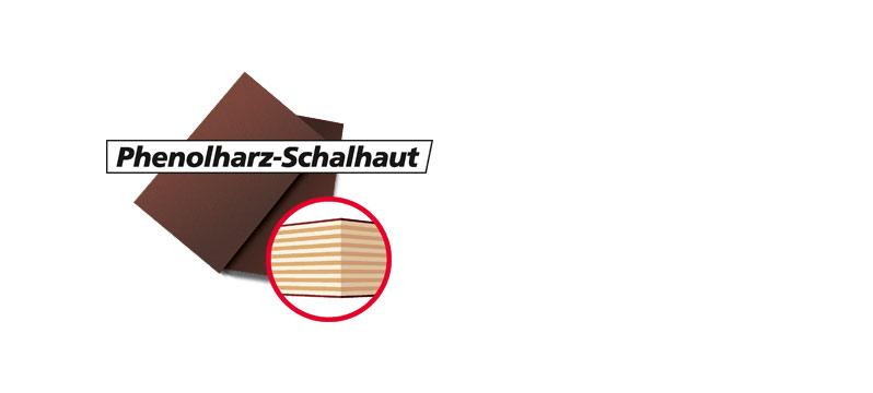Phenolharz - Schalhaut